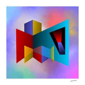 Abstract Digital Art-Composición- 4225 N Copyright