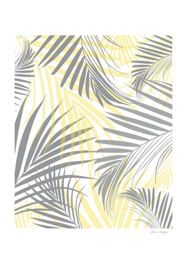Illuminating Ultimate Gray Palm Leaves Dream 1