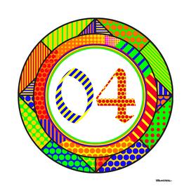 Circle OLD ENGLISH Modern - 2004- Pop Art