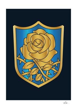 Black Clover blue rose