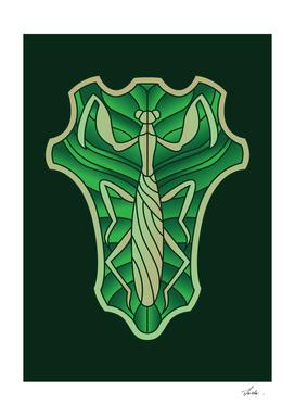 Black Clover green mantis