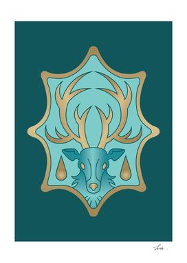 Black Clover azure deer
