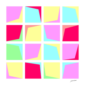 Digital Art - Geometric composition- 3604 N Copyright