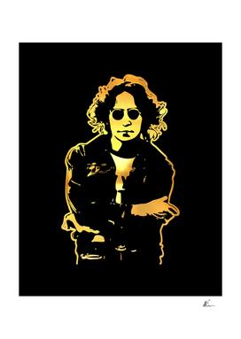 John Lennon | Gold Series | Pop Art