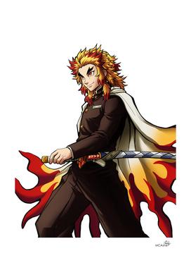 Fire pillar hero