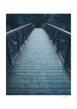 Cold and Eerie Bridge