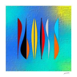 Digital Art-Geometric composition-4270 N Copyright