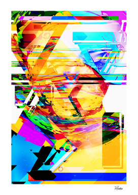 Artistic XLIII - Glitchy Portrait / NE