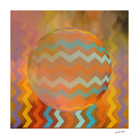 Digital Art-Geometric composition-4280 N Copyright