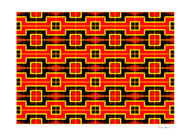 Red and Black Squares Pattern