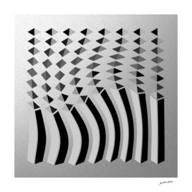 Digital Art-Geometric composition-4284 N Copyright