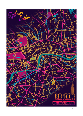 LONDON Synthwave Edition