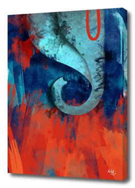 Ganesh in Blue (Ganpati Series)
