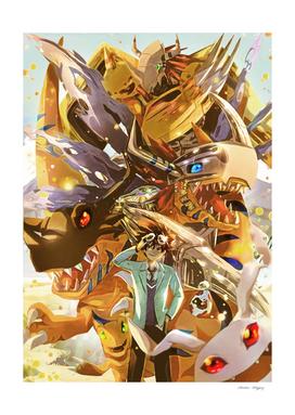 Courage Digimon