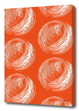 Circle yarn pattern