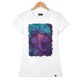 Ganesh in Purple (Ganpati Series)