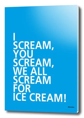 I Scream – A Tongue Twisters