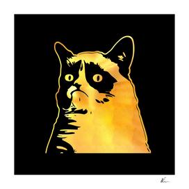 Grumpy Cat | Gold Series | Pop Art