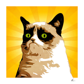 Grumpy Cat | Pop Art