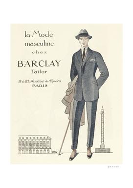 La mode masculine - business, Wall Street, chic, fashion