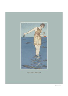 Costume de bain (2) - Boho, summer, ocean, fashion print