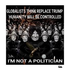 I'M NOT A POLITICIAN
