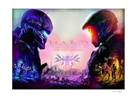 Halo Guardians retro