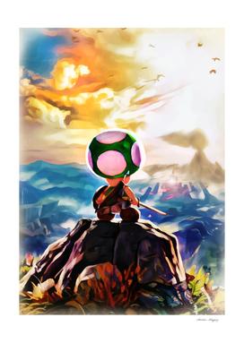 Legend of Mario Breath of the Fungus