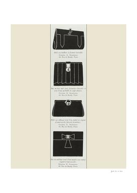 Le sac a main - Boho, chic, fashion print