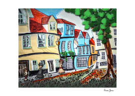 Elm hill Norwich England
