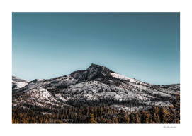 isolated mountain at Yosemite national park California USA