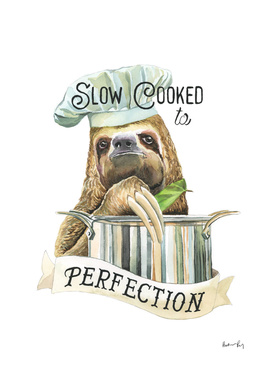 Slow Cooking Sloth