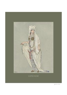 Sophonisbe - fearless, ancient, myths, Art Deco