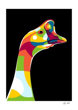 The Goose Portrait