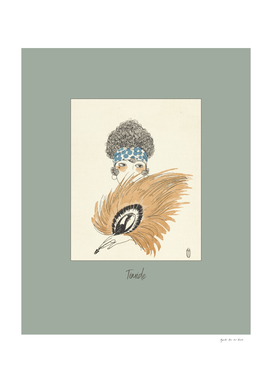 Timide - boho, chic, folk, Art Deco, Fashion
