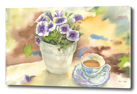 Teatime in the garden