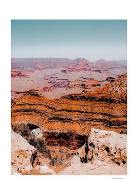 desert layer at Grand Canyon national park, Arizona, USA