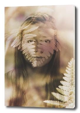 woman fern