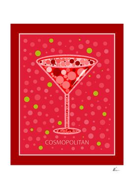 Cosmopolitan   Cocktail   Pop Art