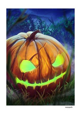 Halloween Pumpkin Art