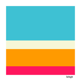 Colorful abstract minimal stripe pattern