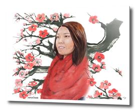 Momoko and Sakura Cherry blossom