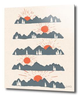 Sunrises... Sunsets...