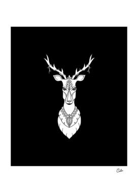 Deer (Black)