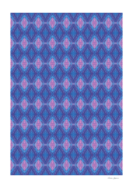Pink and Blue Crystals Pattern