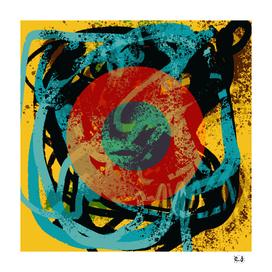 Zen Sea Life of the Universe  by Emmanuel Signorino
