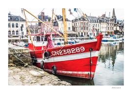 Vieux bateau de peche