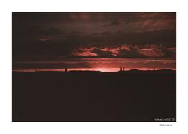 Soleil rouge - Haguenau
