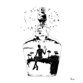 Asteria in a bottle