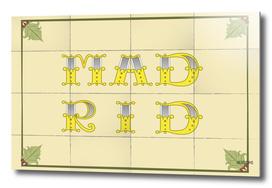 Madrid tiles